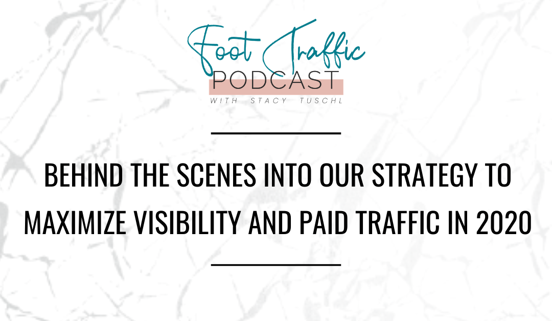 BEHIND THE SCENES INTO OUR STRATEGY TO MAXIMIZE VISIBILITY AND PAID TRAFFIC IN 2020