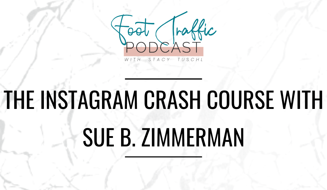 The Instagram Crash Course with Sue  B. Zimmerman