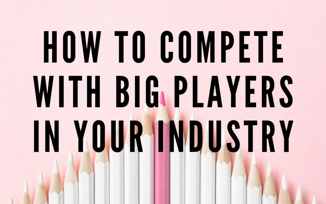 Competing With Big Players In Your Industry Blog