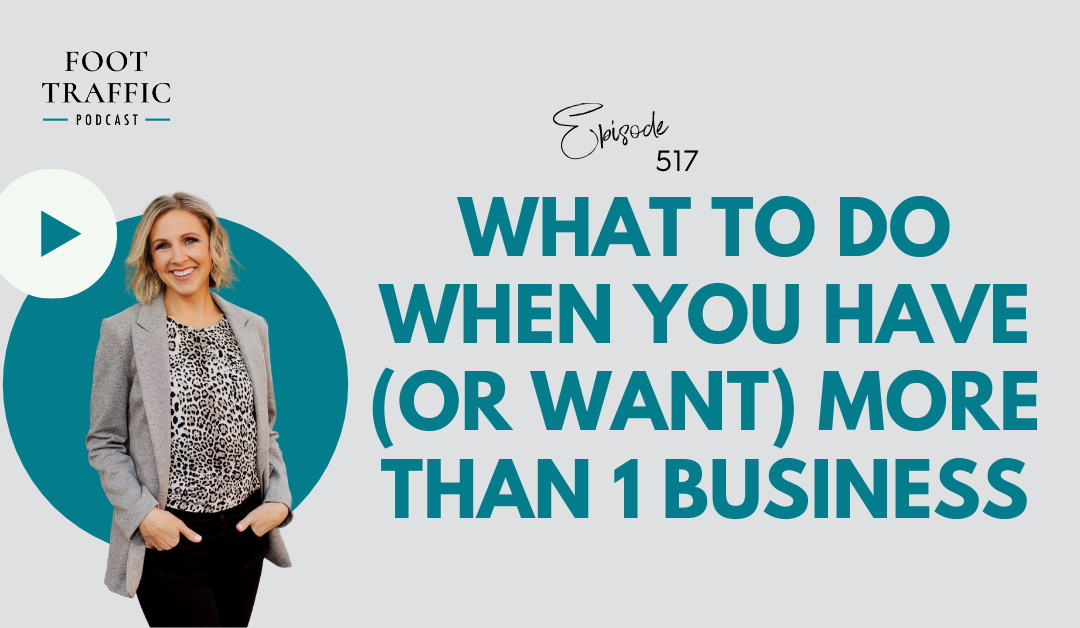 What To Do When You Have (or Want) More Than 1 Business