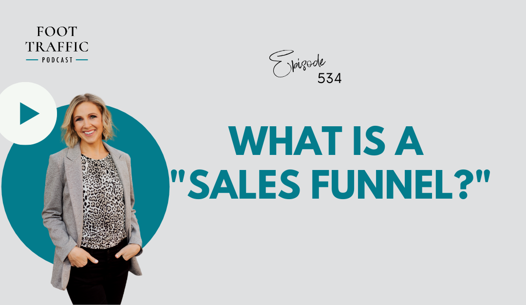 """What is a """"sales funnel?"""""""