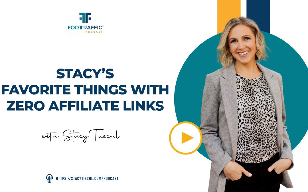 Stacy's Favorite Things With ZERO Affiliate Links