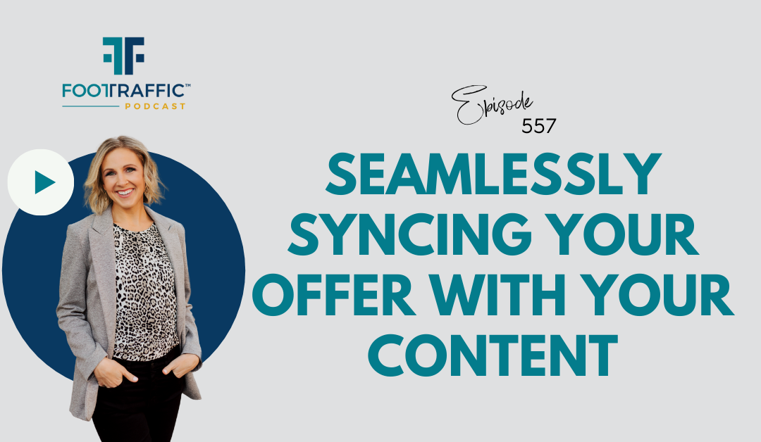 Seamlessly Syncing Your Offer with Your Content