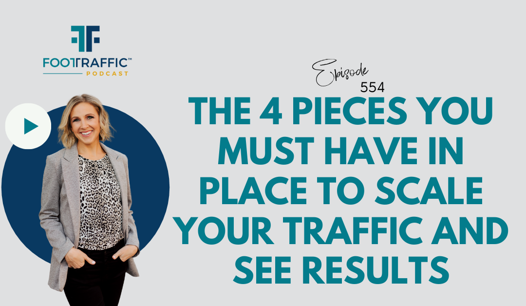 The 4 Pieces You Must Have in Place to Scale Your Traffic and See Results